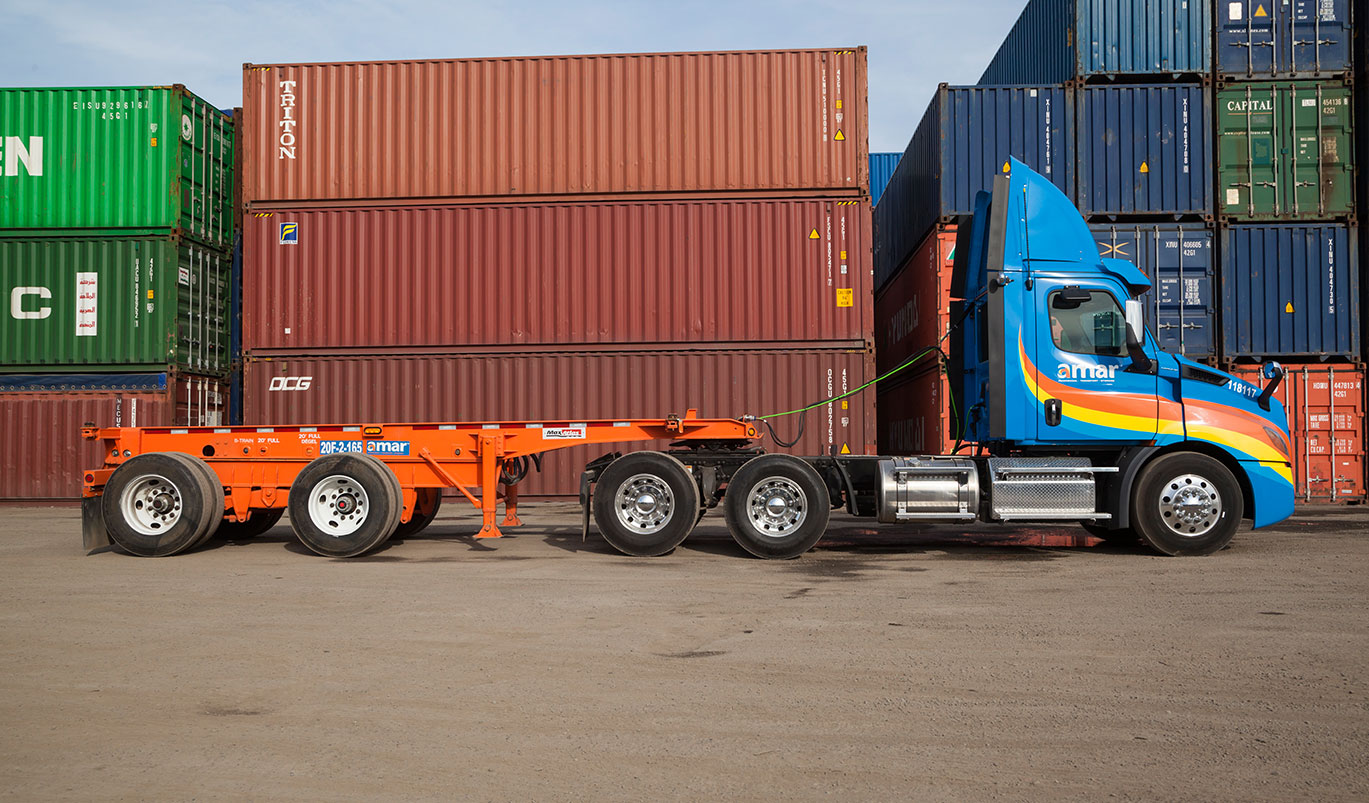 Trucking, intermodal & container storage equipment