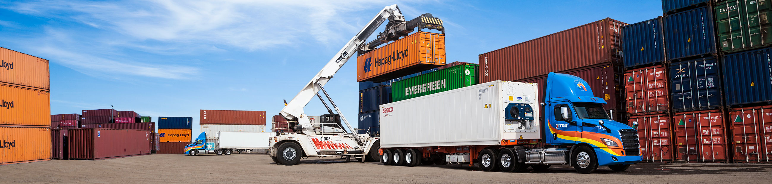 Trucking, intermodal and container storage